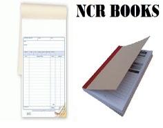 NCR books & pads