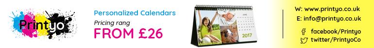 Printyo Personalized Calendars Banner